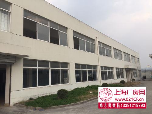 G1495浦东川沙 G1501华夏路高架边 二楼可装货梯900平方米厂房仓库办公楼出租 1元含税