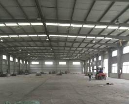 金山漕泾原房东厂房仓库出租2100平米单层厂房仓库