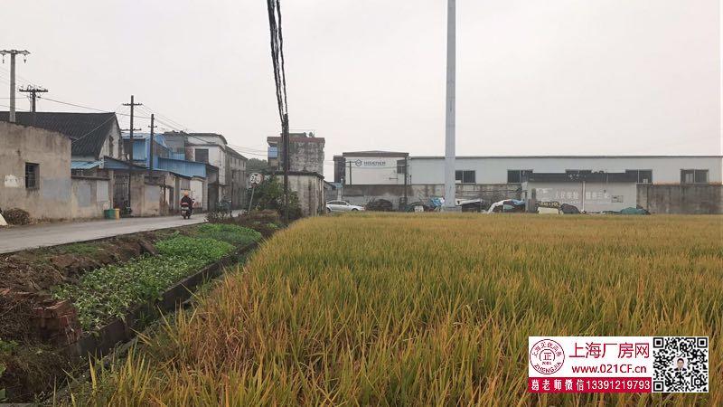 G1763 海盐近市区有5亩工业用地带厂房出售