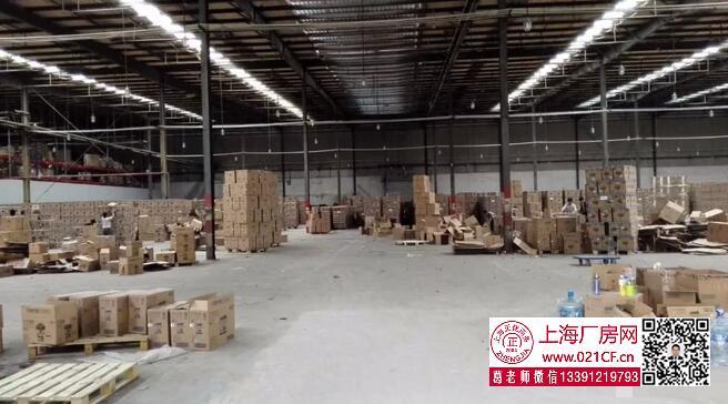 G1768  浦东沪南公路旁6000平单层丙二类标准物流仓库出租
