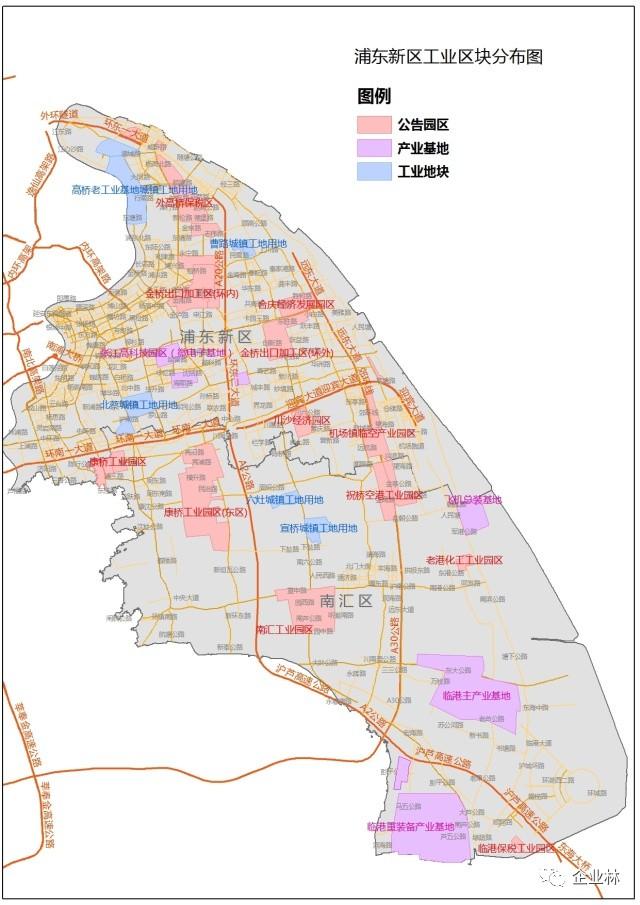 你的企业在104区块、198区域还是195区域,要不要外迁?(附各区104区块图)