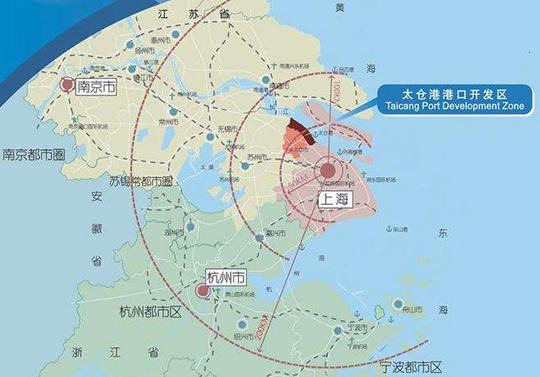 江苏苏州太仓港经济技术开发区 工业用地 土地出售招商