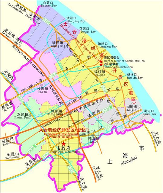江苏苏州太仓高新区 工业用地 土地出售招商 厂房出租