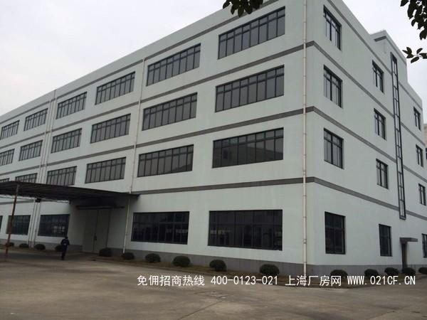 G1989 青浦朱家角工业园区104地块4层厂房仓库出租 2200平/层 0.8元