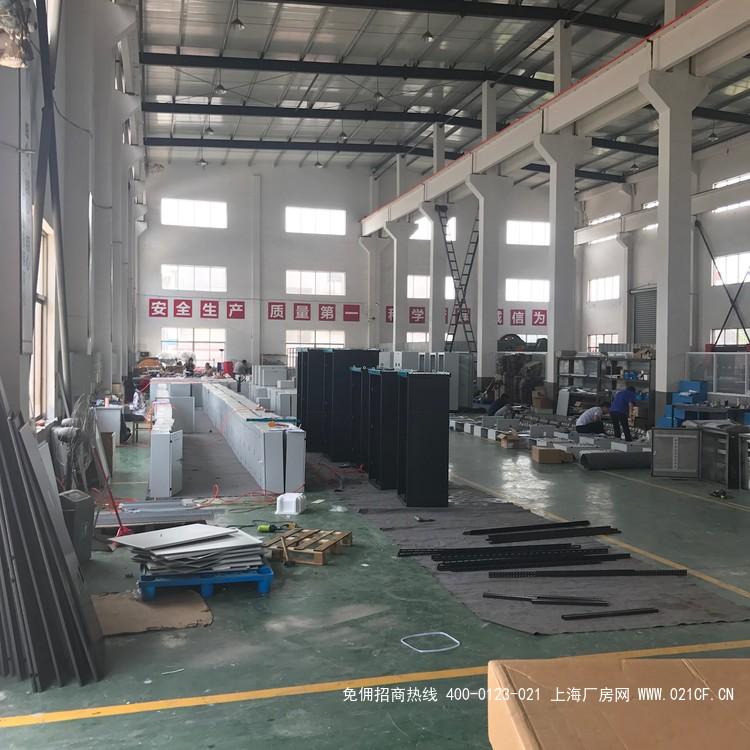 G2003奉贤区浦星公路1800平方米 单层厂房出租 带行车10吨
