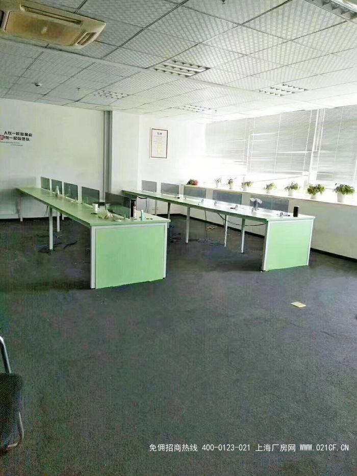G2024  松江江田东路松卫北路办公楼出租 357平精装修带隔断