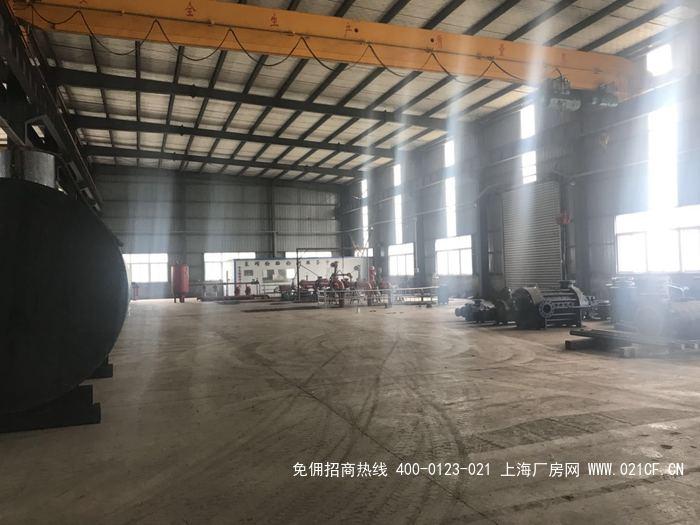 G2033 南京经济圈城市圈 和县独门独院单层厂房出售 占地35亩  厂房7000平方 带行车  只要1250万 享补贴100-500万