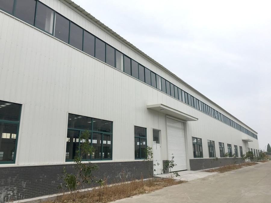 A8335 南通海安工业园区内 5700平/栋 单层可装行车厂房出租  共三栋 可分栋出租