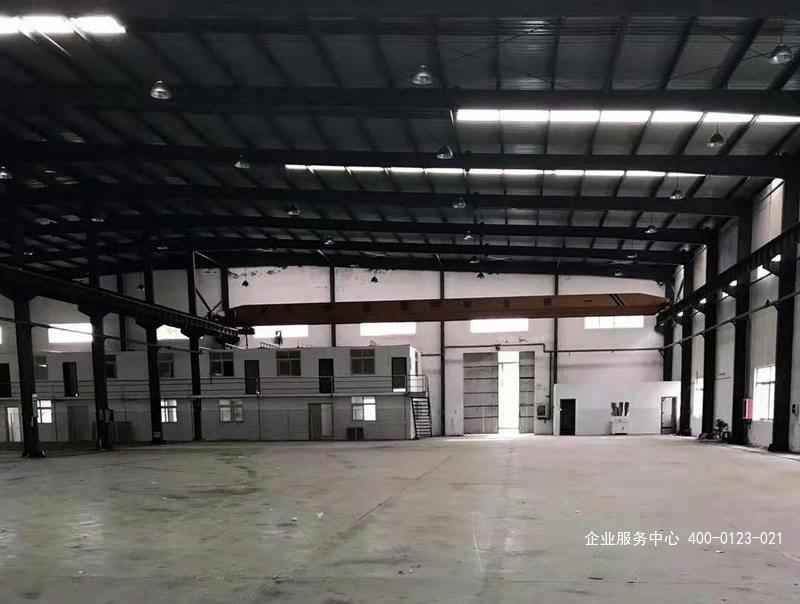 G2408无税收要求 宝山区罗泾镇沪樊路 2165平高标准单层厂房出租 可分割