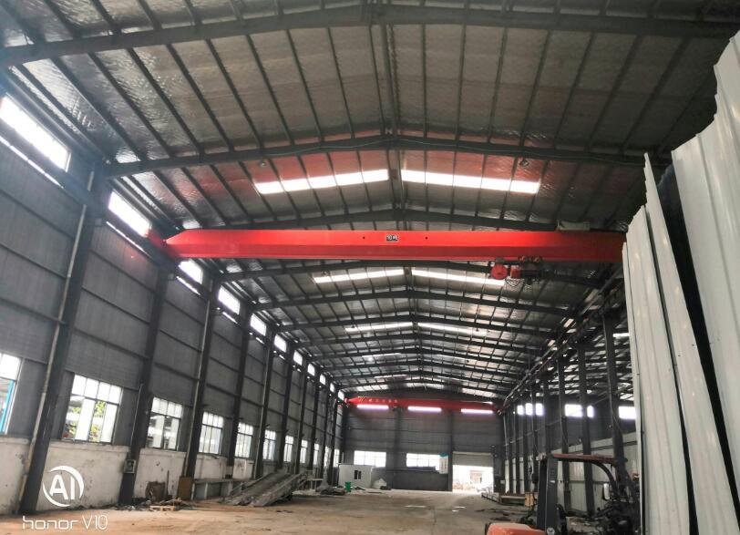 江宁禄口禄大道出租单层钢结构机械厂房出租 共5200平米