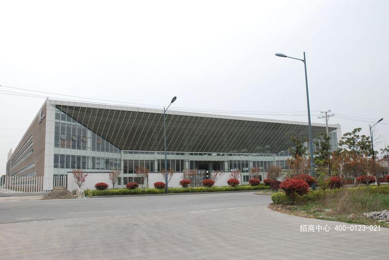 G2557 长兴经济技术开发区23.5亩工业用地 建有两栋双层高标厂房仓库合计近2万平  整体出售