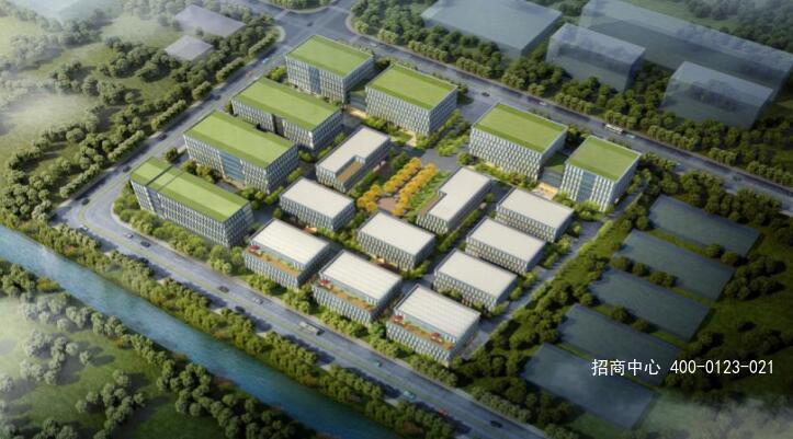 G2554 闵行厂房研发楼出售-联东U谷-马桥人工智能产业园 独栋2400平起出售