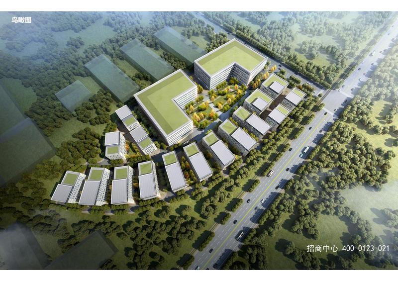 G2555 闵行厂房研发楼出售-联东U谷-马桥智慧医疗产业园 独栋2000平起出售