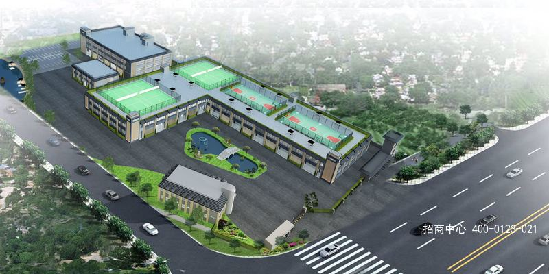 G2571 青浦华新未来展览中心 嘉松中路799弄 200平起租 新园区 优惠招商中 国家会展中心15公里车程