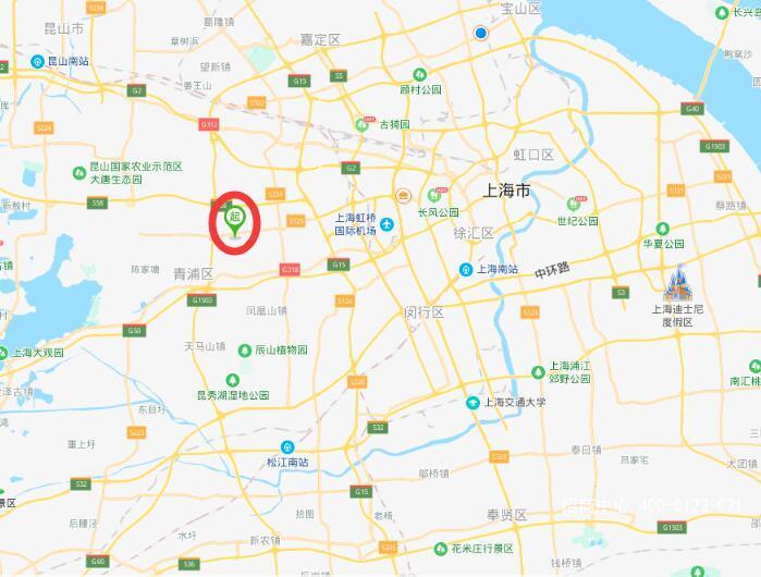 A8391 青浦工业区崧盈路新丹路104地块工业用地41亩 厂房17000平方 整体转让出售