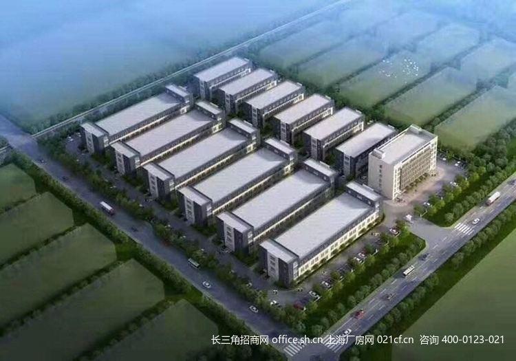 G2689 苏州张家港高铁新城(塘桥镇) 智能制造产业园 独栋小面积厂房出售 双层三层 1500-5100平/栋