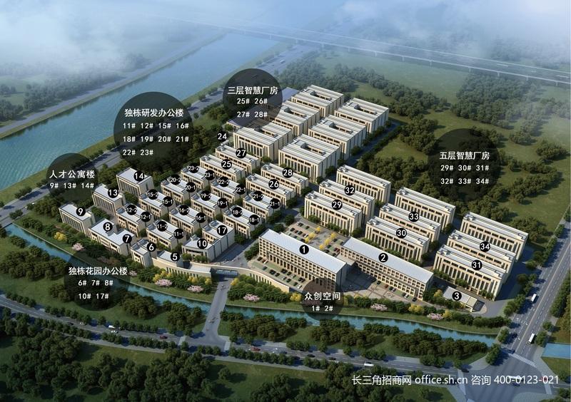 G2726 湖州南太湖高新区 新建独栋研发办公厂房出售 1035平方米起出售 首付3成