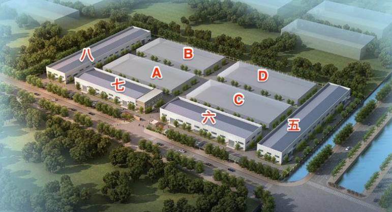 南通启东工业园区62亩 8栋全单层火车头厂房出售 6000万