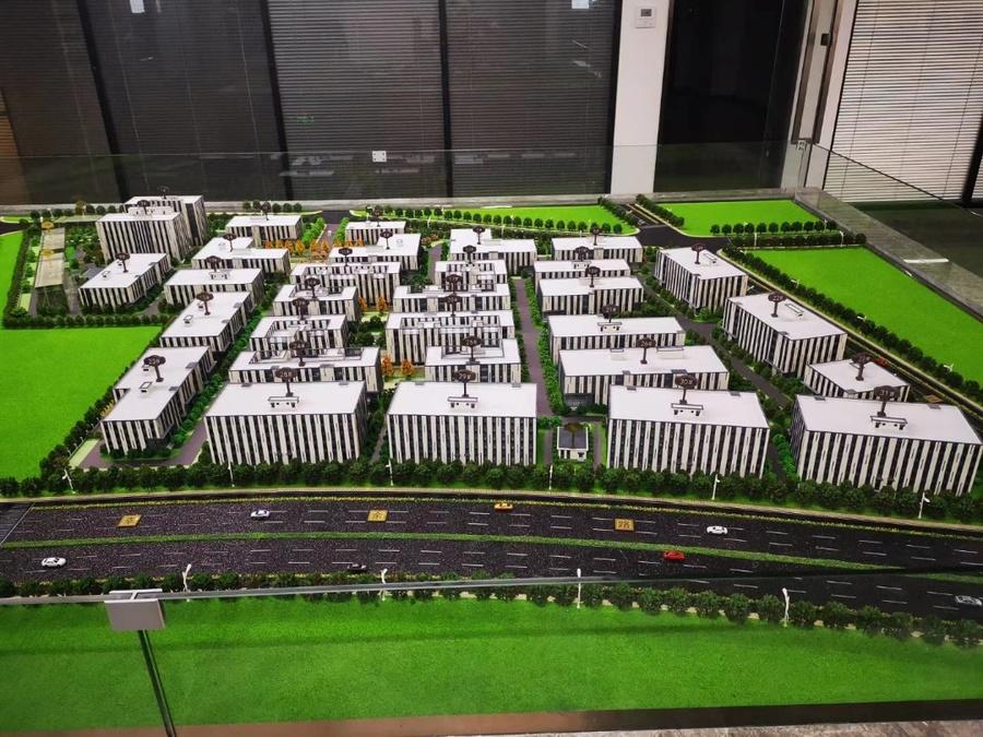 上海市北高新(南通)科技城 南通崇川区港闸地铁上盖高科技绿色生态产业综合体 研发办公厂房出售 独栋2000平起售