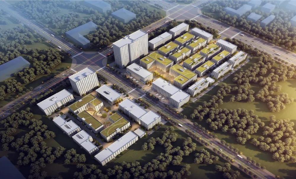 中南高科·西安高新产业智造中心 西安高新区中央创新区三层四层独栋厂房出售1200平起 多层研发厂房600平起出售