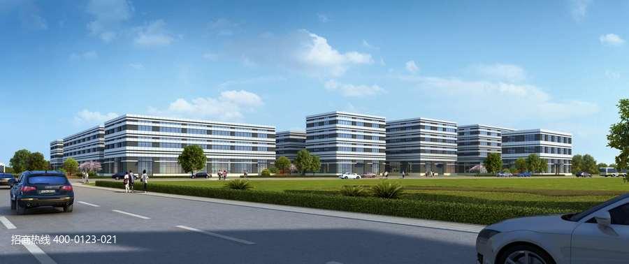 G2857 科曼斯启创智谷/无锡惠山区与常州经济开发区的交界处 三层独栋厂房出售 1200平起 五层分层出售650平起