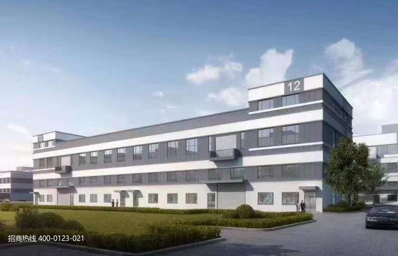 G2864 苏州常熟古里智建万石医疗智造科技产业园标准厂房出售1300平起