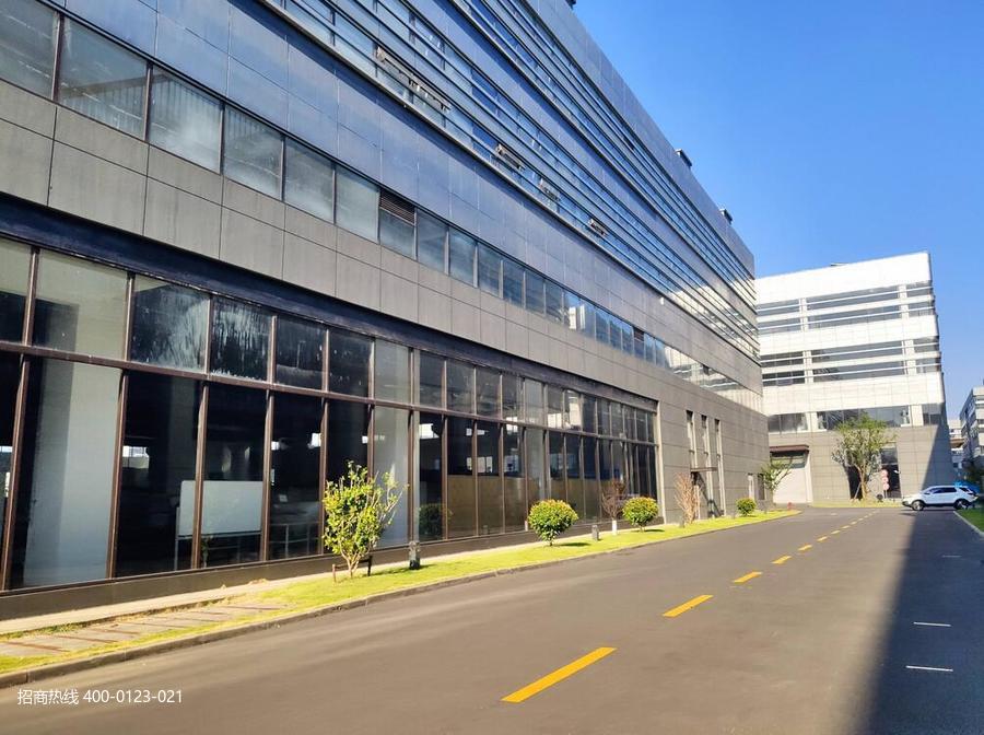 G2863松江区洞泾镇泗砖公路104地块G60科创走廊标准厂房出租 可分割 一楼可装行车