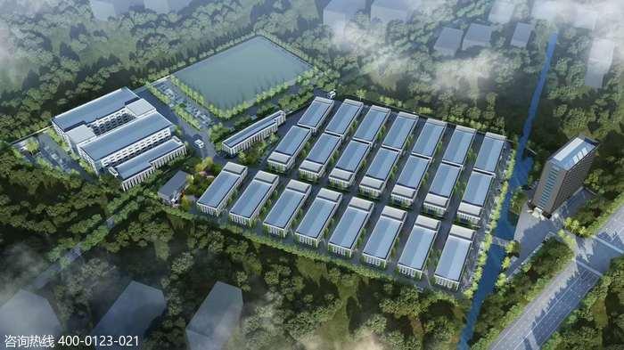 G2873 嘉兴平湖独山港经济开发区 单层独栋火车头厂房出售2007平-3169平起 12米高