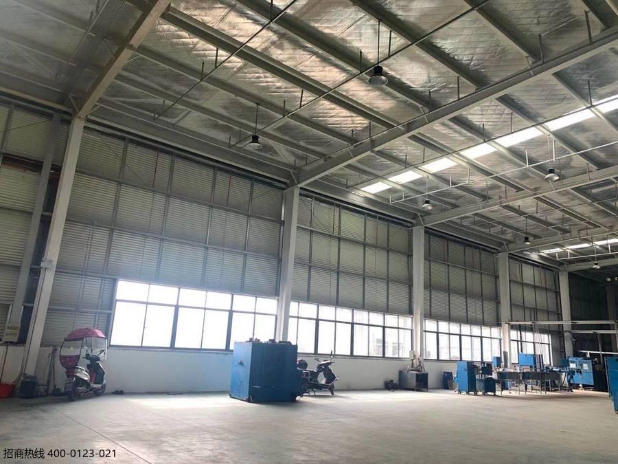 合肥肥西开发区近三河古镇 省级开发区 新建单层钢结构厂房出租 2700平 租金15元/平/月