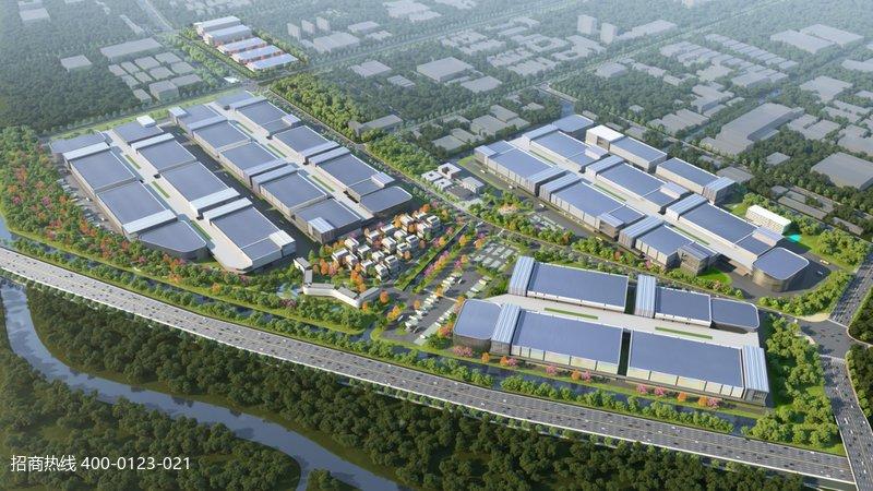 金山银河一号产业园 上海金山华平新宜标准单层钢结构厂房出租 5000平起租 层高12米