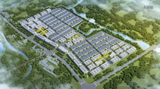 中南高科合肥合巢柘皋锦顺智能制造产业园 单层钢构 双层三层框架厂房出售招商 1600平起