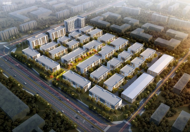 中南高科·武汉襄阳东津创新谷 两层,三层,五层框架厂房出售招商 每层面积段400,600,800平